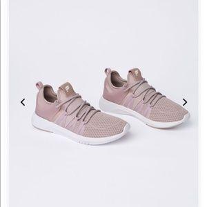 NWT Fabletics Dusty Rose Mesh Sneaker